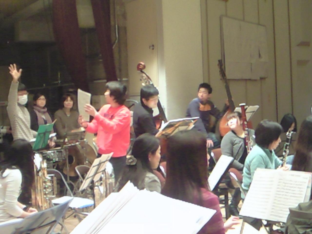 【3/5:4】《音楽祭リハ》吹奏楽終了