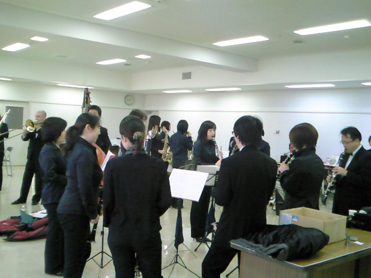 【3/6:7】《ゆう音楽祭》2<br />  部チューニング
